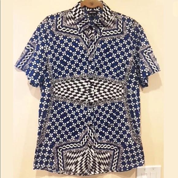 19d7f28a92031 Roberto Cavalli Men s Abstract Print Shirt SZ M. M 5ae0ab888af1c55869a18589